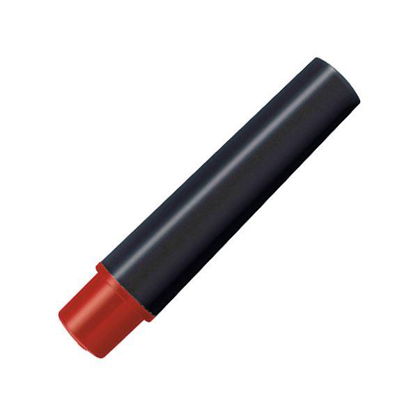 (まとめ) ゼブラ 水性マーカー紙用マッキー(太+細)用インクカートリッジ 赤 RWYT5-R 1パック(2本) 【×100セット】