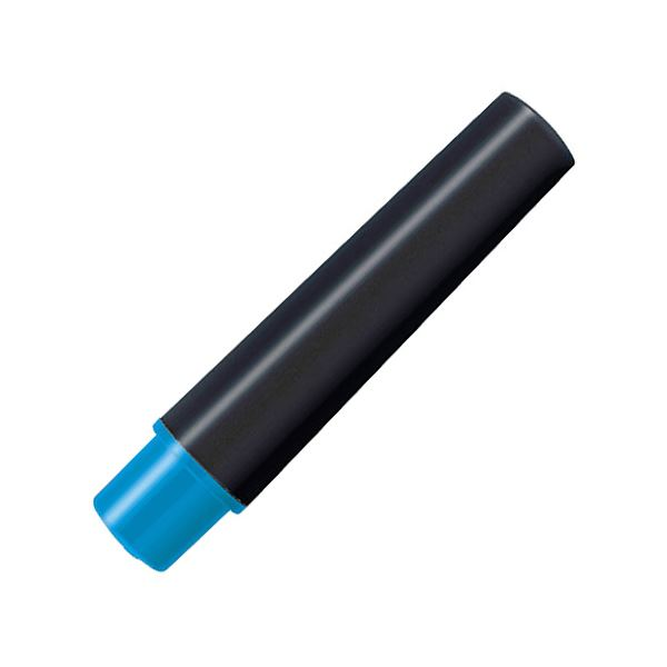 (まとめ) ゼブラ 水性マーカー紙用マッキー(太+細)用インクカートリッジ ライトブルー RWYT5-LB 1パック(2本) 【×100セット】