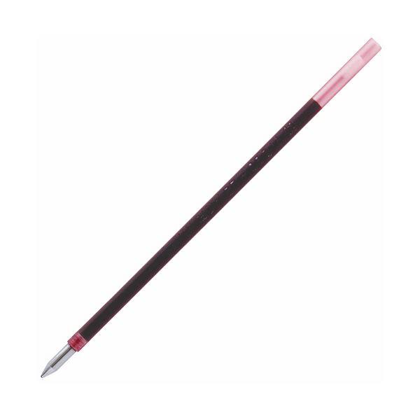 (まとめ) トンボ鉛筆 油性ボールペン替芯 CS2 0.7mm 赤 リポーターオブジェクトK3・K4用 BR-CS225 1セット(10本) 【×30セット】