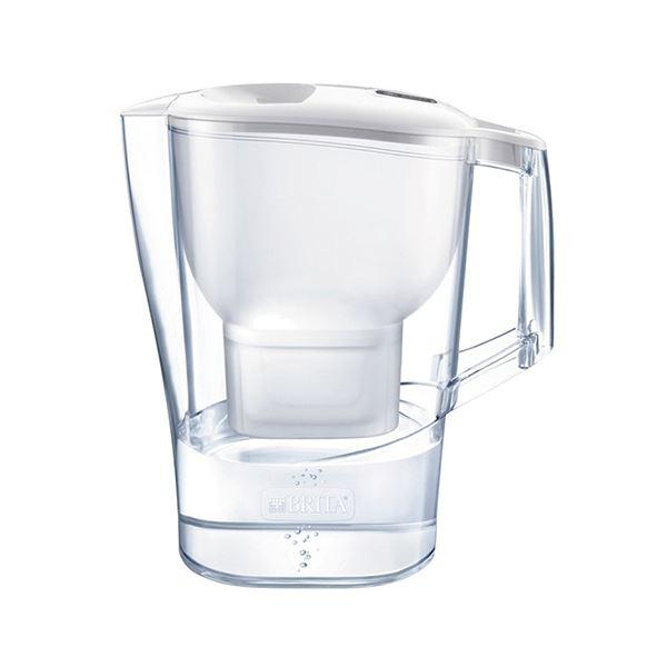 最新 70%OFFアウトレット 水道水を注ぐだけでカンタンにおいしいお水が作れる まとめ ブリタ アルーナXL 3.5L BRT073 ホワイトマクストラカートリッジ付 ×2セット 〔沖縄離島発送不可〕 1個