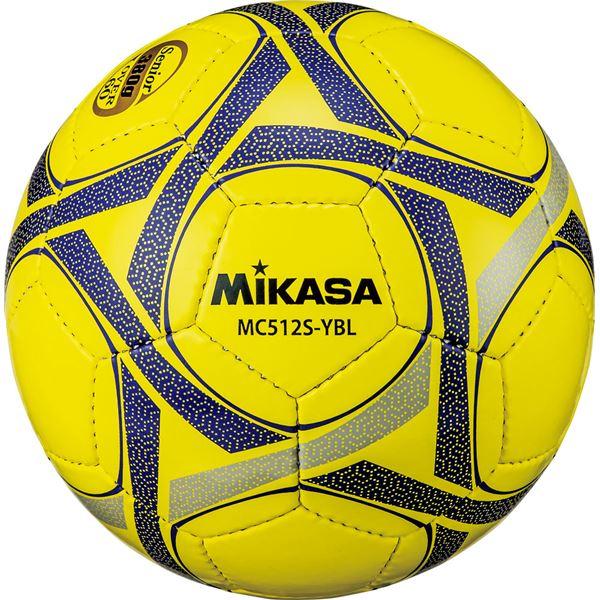 今だけスーパーセール限定 MIKASA ミカサ サッカーボール軽量5号球 シニア 60歳以上 イエローブルー 〔沖縄離島発送不可〕 用 MC512SYBL セール価格