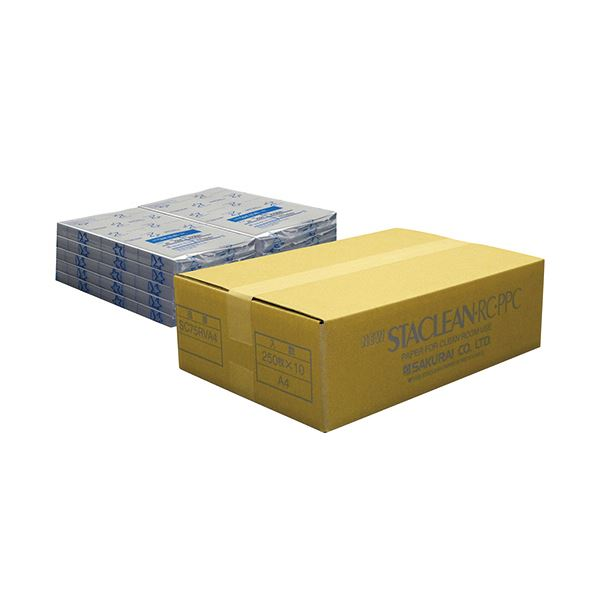 桜井 ニュースタクリンRC.PPC A4バイオレット SC75RVA4 1箱(2500枚:250枚×10冊)