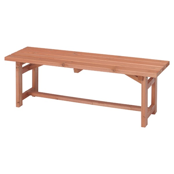 木製ベンチ120【代引不可】