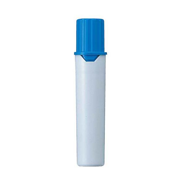 (まとめ) 三菱鉛筆 水性マーカー プロッキー詰替えタイプ用インクカートリッジ 太字角芯+細字丸芯 水色 PMR70.8 1本 【×300セット】