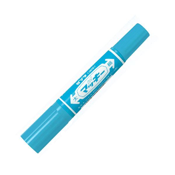 (まとめ)ゼブラ ハイマッキー MO-150-MC-LB ライトブルー【×200セット】