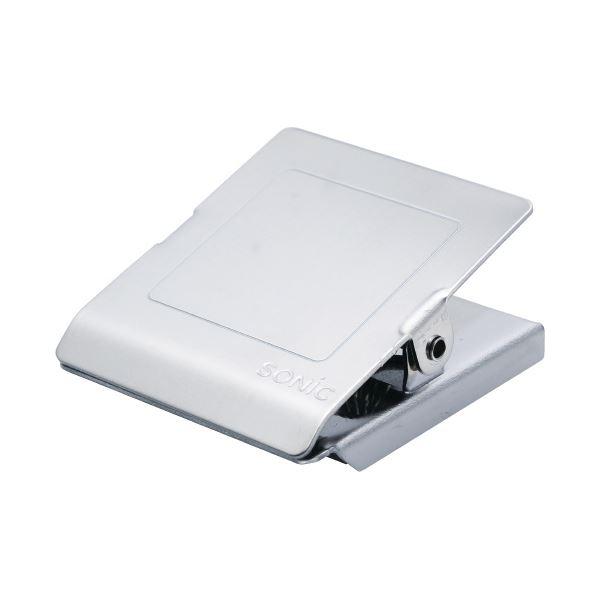 (まとめ)ソニック ステンレスマグネットクリップL CP-1093【×50セット】