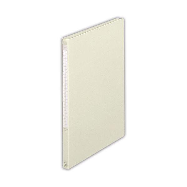 (まとめ)プラス レターファイル A4タテ100枚収容 背幅18mm ライトグレー FL-001LT 1冊 【×20セット】