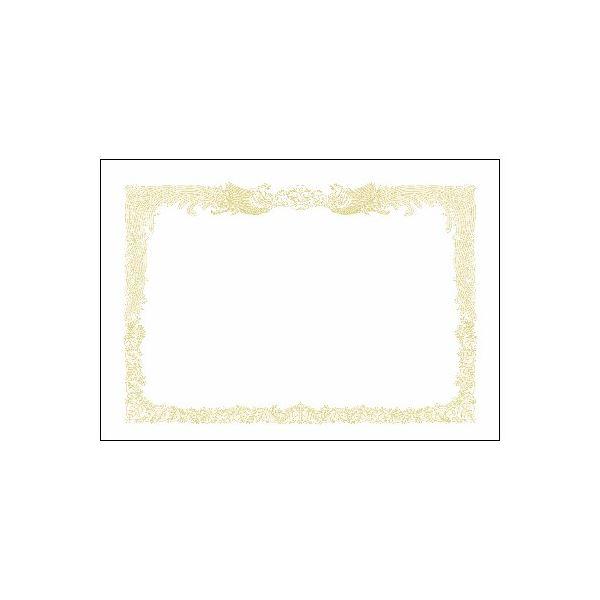 (まとめ)タカ印 賞状用紙 10-1170 B4縦書 百枚【×5セット】