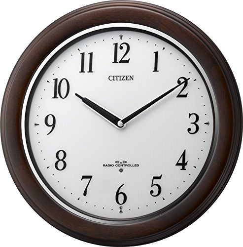 シチズン CITIZEN リズム時計 電波掛け時計 リバライト RW495 8MY495-006