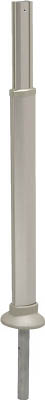 【アロン】安寿アプローチ用手すり 支柱埋め込み固定式R 535998【TN】【TC】【ハンドル】