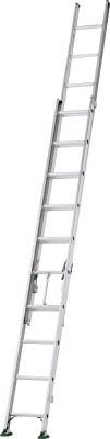 【取寄】[アルインコ]アルインコ 二連梯子 全長3.98m~6.05m 最大仕様質量130kg SX61D[工事用品 はしご・脚立 はしご アルインコ(株)]【TC】【TN】