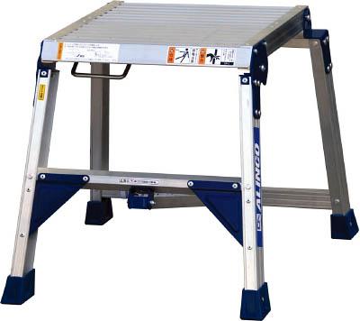 【アルインコ】折り畳み式足場台 0.47m 最大使用質量150kg CSF-47A【TN】【TC】【折りたたみ式作業用踏台(アルミ製)/作業用踏台/はしご・脚立/アルインコ】