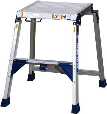 【アルインコ】折り畳み式足場台 0.6m 最大使用質量150kg CSF-60A【TN】【TC】【折りたたみ式作業用踏台(アルミ製)/作業用踏台/はしご・脚立/アルインコ】