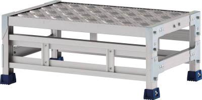[アルインコ]アルインコ 作業台(天板縞板タイプ)1段 CSBC126S[工事用品 はしご・脚立 作業用踏台 アルインコ(株)]【TC】【TN】
