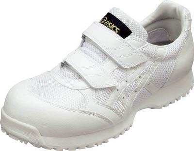 [アシックス]アシックス 静電気帯電防止靴 ウィンジョブE30S 白X白 24.0cm FIE30S.010124.0[環境安全用品 保護具 作業靴 アシックスジャパン(株)]【TC】【TN】