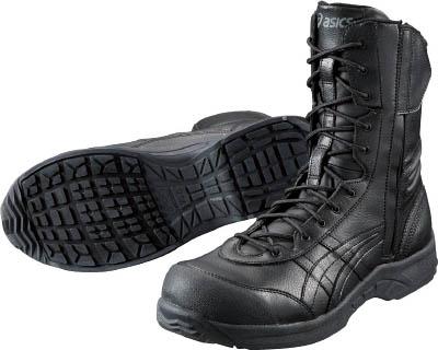 【取寄】アシックスウィンジョブ500 ブラックXブラック 23.0cm FIS500.909023.0 【TC】【TN】