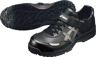 【取寄】アシックスウィンジョブ52S ブラックXガンメタル 30.0cm FIS52S.907530.0 【TC】【TN】