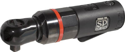 【SP】ミニラチェパクト9.5mm角 SP-7722A【TN】【TC】【エアラチェットレンチ/空圧工具/エス.ピー.エアー】