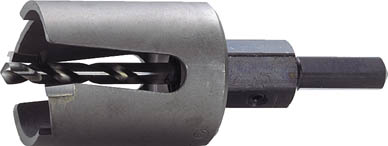 【残りわずか】 【大見】FRPホールカッター 105mm FRP105【TN】【TC】【ホールカッター】:ゆにでのこづち-DIY・工具