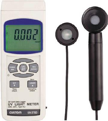 【カスタム】紫外線強度計 UV37SD【TN】【TC】【温度計・湿度計】