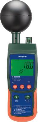 [カスタム]カスタム データロガー熱中症計 HI2000SD[生産加工用品 計測機器 温度計・湿度計 (株)カスタム]【TC】【TN】【10P25Oct14】