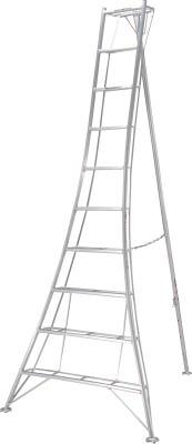 訳あり ※※[ピカ]ピカ GMK300A 脚立]【TD】【TG】:ゆにでのこづち 10尺 はしご・脚立 三脚脚立GMK型 [工事用品-DIY・工具