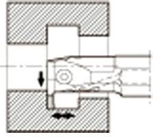 [京セラ]京セラ 溝入れ用ホルダ KIGMR3225B3V 2039[切削工具 旋削・フライス加工工具 ホルダー 京セラ(株)]【TC】【TN】【10P25Oct14】