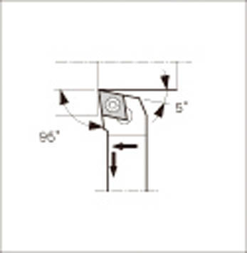 [京セラ]京セラ スモールツール用ホルダ SCLCL2525M09 2039[切削工具 旋削・フライス加工工具 ホルダー 京セラ(株)]【TC】【TN】【10P25Oct14】