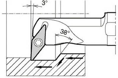 【まとめ買い】 京セラ(株)]【TC】【TN】【10P25Oct14】:ゆにでのこづち 旋削・フライス加工工具 [京セラ]京セラ 内径加工用ホルダ S25SSVUBR1634A 2039[切削工具 ホルダー-DIY・工具