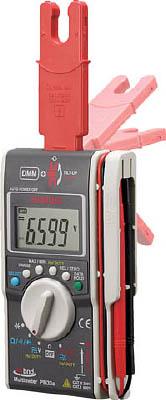 [SANWA]SANWA ハイブリットミニテスタ(マルチメータ+クランプメータ) PM33A[生産加工用品 計測機器 電気測定器・テスタ 三和電気計器(株)]【TC】【TN】