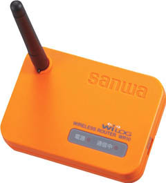 [SANWA]SANWA ワイヤレス中継機(温湿度ロガー用) WR10[生産加工用品 計測機器 温度計・湿度計 三和電気計器(株)]【TC】【TN】