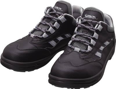 【シモン】シモン プロスニーカー SL11黒 24.0cm SL11BK24.0【保護具/作業靴/シモン/作業靴/作業靴シモンライト】【TC】【TN】【安全靴】