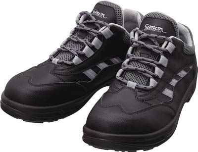 【シモン】シモン プロスニーカー SL11黒 24.5cm SL11BK24.5【保護具/作業靴/シモン/作業靴/作業靴シモンライト】【TC】【TN】【安全靴】