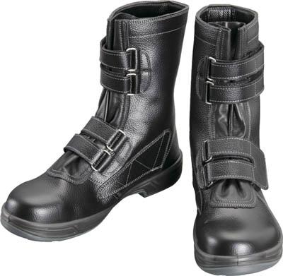 【シモン】シモン 安全靴 長編上靴マジック式 SS38黒 29.0cm SS3829.0【保護具/安全靴】【TC】【TN】