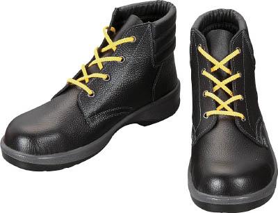 【シモン】シモン 静電安全靴 編上靴 7522黒静電靴 24.0cm 7522S24.0【保護具/安全靴】【TC】【TN】