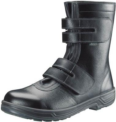 【シモン】シモン 安全靴 長編上靴マジック式 SS38黒 27.5cm SS3827.5【保護具/安全靴】【D】