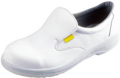 【シモン】シモン 静電安全靴 短靴 7517白静電靴 24.5cm 7517WS24.5【保護具/安全靴】【TC】【TN】