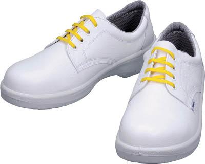 [シモン]シモン 静電安全靴 短靴 7511白静電靴 23.5cm 7511WS23.5[環境安全用品 保護具 安全靴 (株)シモン]【TC】【TN】