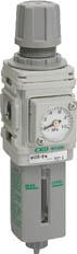 【CKD】フィルタレギュレータ W400010W【TN】【TC】【エアユニット】