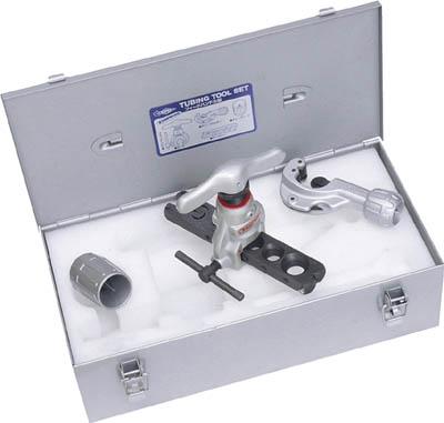 【スーパー】チュービングツールセット(偏芯式)フィードハンドル型、新冷媒・新規格 TS456WH【TN】【TC】【フレアリングツール/電設・配管用工具/スーパーツール】