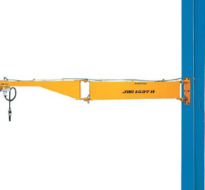 【取寄】[スーパー]スーパー 柱取付式ジブクレーン(シンプル型)容量:160kg JBC1537H[物流保管用品 チェンブロック・クレーン ジブクレーン (株)スーパーツール]【TC】【TN】