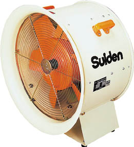 【スイデン】スイデン 送風機(軸流ファンブロワ)ハネ400mm 三相200V SJF408【環境改善用品/送風機/スイデン/送風機/大型風量タイプファン】【TC】【TN】