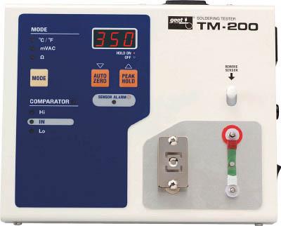 [グット]グット ハンダコテテスター TM200[生産加工用品 はんだ・静電気対策用品 はんだ用品 太洋電機産業(株)]【TC】【TN】