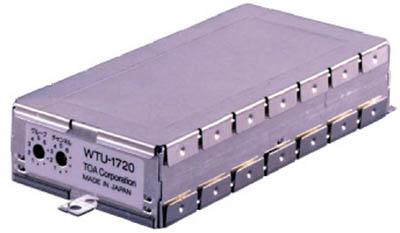 ※代引不可※[TOA]TOA ワイヤレスチューナーユニット(シングル) WTU1720[環境安全用品 安全用品・標識 拡声器 TOA(株)]【TD】【TN】
