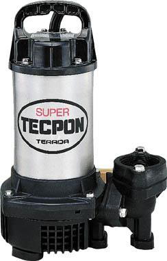 【寺田】水中スーパーテクポン 非自動 50Hz CX-400【TN】【TC】【寺田ポンプ製作所/水中ポンプ/汚物混入水用水中ポンプ】