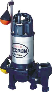 【寺田】汚物混入水用水中ポンプ 自動 50Hz PXA-250【TN】【TC】【寺田ポンプ製作所/水中ポンプ/汚物混入水用水中ポンプ】