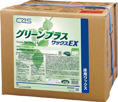[ディバーシー]ディバーシー 樹脂ワックス グリーンプラスワックスEX 18L 5901220[環境安全用品 清掃用品 床用洗剤・ワックス ディバーシー(株)]【TC】【TN】