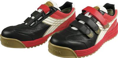[ディアドラ]ディアドラ DIADORA 安全作業靴 ロビン 黒/白/赤 24.0cm RB213240[環境安全用品 保護具 作業靴 ドンケル(株)]【TC】【TN】