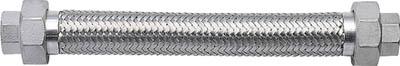 【NFK】ユニオン無溶接式フレキ ALLSUS304 25A×500L NK113-25-500【TN】【TC】【フレキシブルメタルホース/フレキ管/ホース・配管資材/南国フレキ工業】
