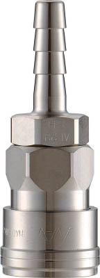 【ナック】クイックカップリング AL40型 ステンレス製 ホース取付用 CAL48SH3【TN】【TC】【カップリング】